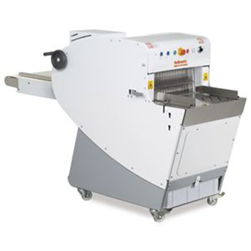 Automatic slicer for artisanal-industrial use