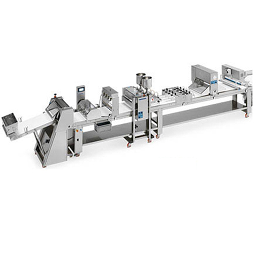 The Production lines are made by integrable modules like humidifiers, metering, guillotines, scraps recovery and panning